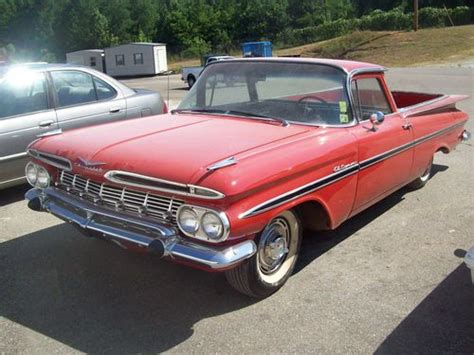 purchase used 1959 chevrolet el camino base standard cab
