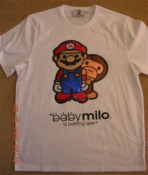 Bape Babymilo T Shirt Mirror Quality 1 t shirts tops original designer baby milo t shirts was sold for r76 00 on 24 aug at 10 31 by
