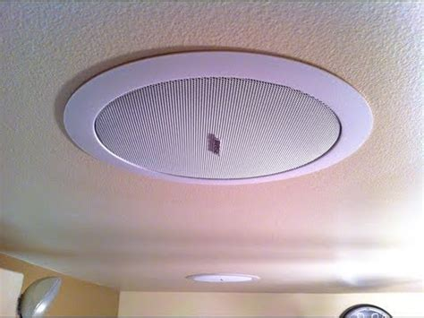 Bose Ds16f Ceiling Speakers by The Bose Freespace Ds 16f S Are Installed
