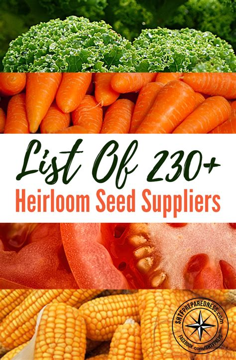 best heirloom seeds list of 230 heirloom seed suppliers