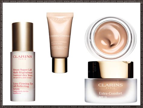 clarins extra comfort foundation swatches clarins event parokeets