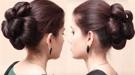 hair style for trichotillomania flower bun hairstyle for girls simple craft ideas