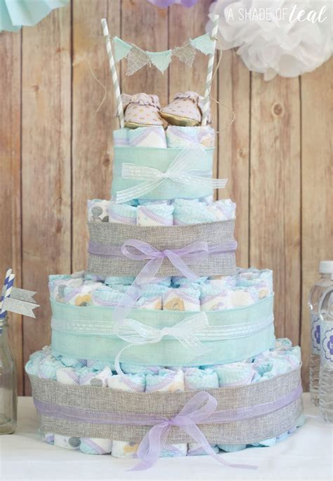 How To Make Baby Shower by Rustic Glam Baby Shower Plus Make A Cake