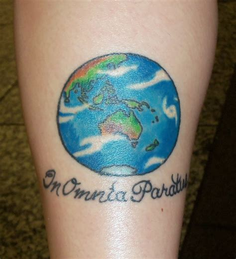 globe tattoos photo gallery