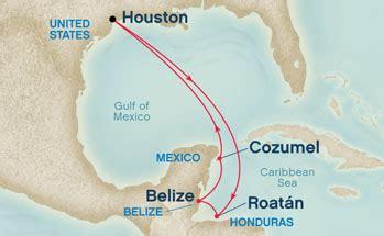 houston to jamaica map itinerary studio 22 cruise