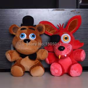 Five nights at freddy s 4 fnaf foxy freddy fazbear doll plush toys