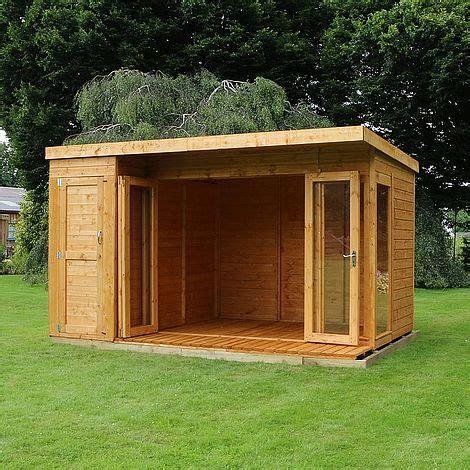 waltons contemporary summerhouse  side shed rh
