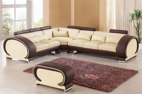 two sofas in l shape modern l shaped sofa designs for awesome living room