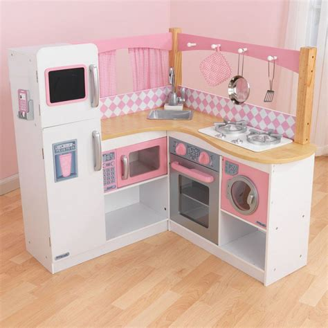 Play Kitchen For Toddlers by Grand Gourmet Corner Play Kitchen
