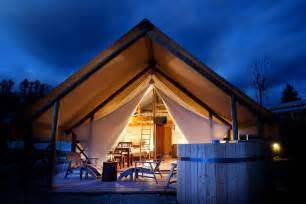 Best Air Sofa Glamping Tents Garden Village Bled Slovenia