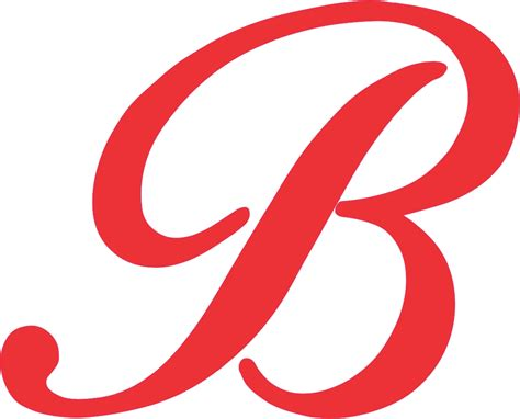 Buchstaben Sticker Rot by 3 75in X 3in Red Cursive B Monogram Sticker Fancy Vinyl