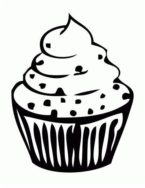 coloring pages of cupcakes and cookies cupcake with sprinkle toppings coloring page h m