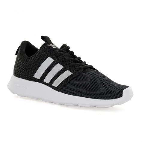Adidas Neo Black adidas neo mens cloudfoam 117 trainers black