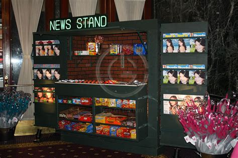 newspaper themed bar we love new york theme parties jew it up