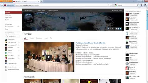youtube layout tutorial new vs old youtube layout tutorial comparison youtube