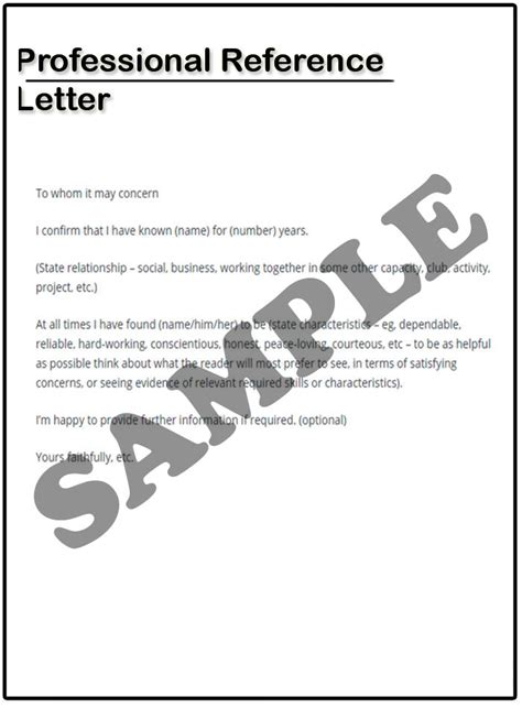 Reference Letter Business Colleague professional reference letter exle