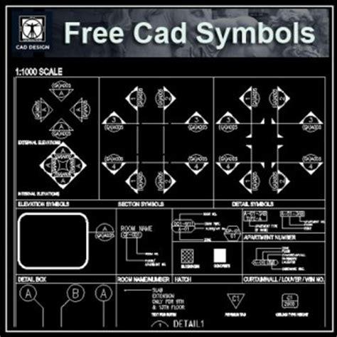 Cad Drawing Symbols Pdf