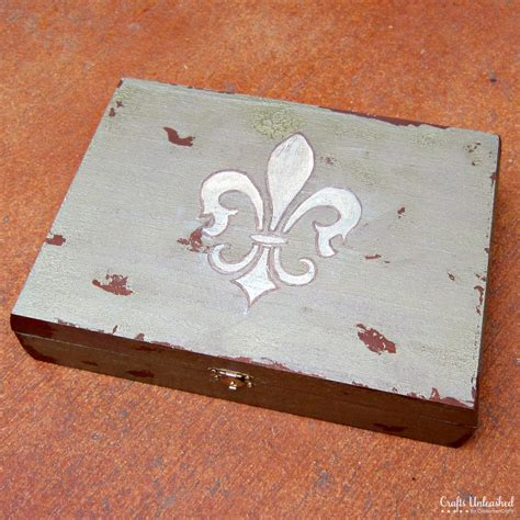 how to make wooden jewelry box antiqued diy jewelry box