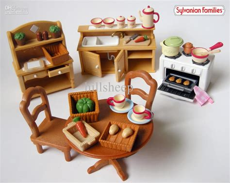 sylvanian country kitchen sylvanian families images