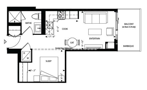 169 fort york blvd floor plans librarydistrict tolstoy ii 1bdr 403sqft library district condominiums at 170 fort york boulevard