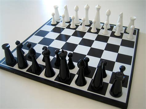 modern chess set 1960 herman ohme modern chess set by linea72 on etsy
