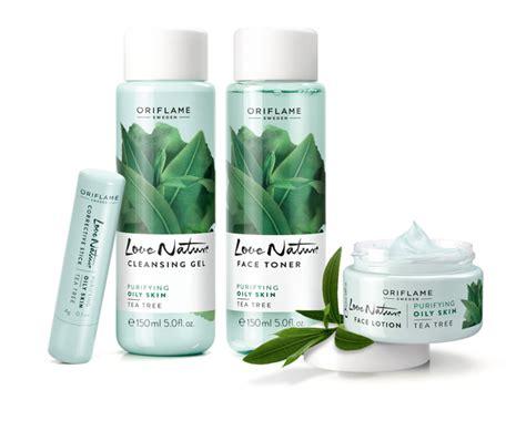 Minyak Oriflame rangkaian nature tea tree oriflame solusi minyak