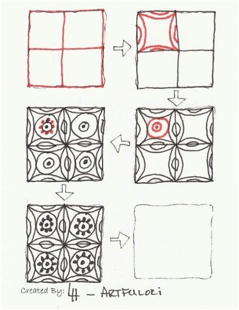how to use engine 6 3 on doodle dug zentangle patterns step by step zentangles step by step