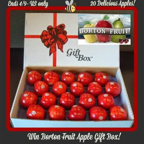 Fruit Giveaway - borton fruit apple gift box giveaway ends 04 09 14 it s free at last