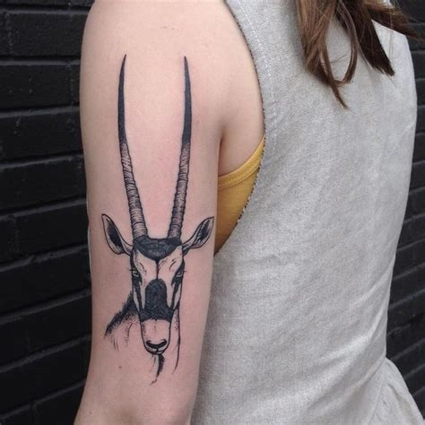 tattoo ideas on instagram oryx by evan davis at banshee tattoo in nashville tn