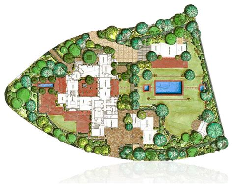 landscape floor plan conceptual landscape plan mediterranean floor plan los angeles by studio h landscape