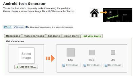 android icon generator android icon generator generador de iconos para android