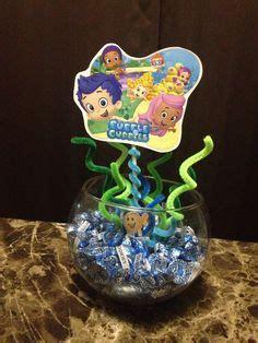 Bubble Guppies Centerpiece Ideas Bubble Guppie Guppies Centerpiece Ideas