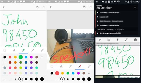 keep lets you draw view notes on your android home screen