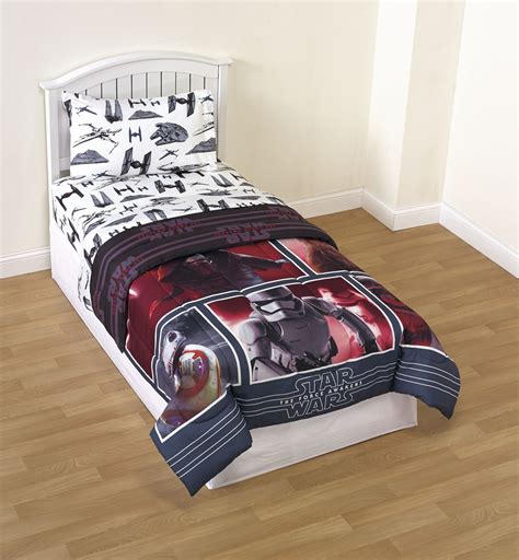 star wars comforters star wars the force awakens reversible comforter home
