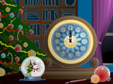 christmas clock screensaver free download christmas 7art magic christmas clock will help all your dreams to