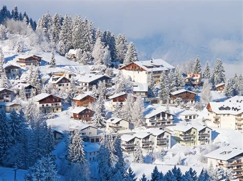 How To Find My House Plans by Winter In The Swiss Alps Switzerland Stock Photo