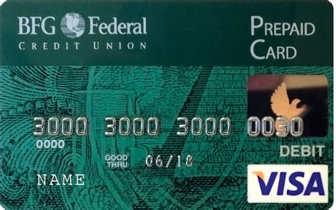 Prepaid Gift Cards With No Fees - bfg federal credit union debit and credit cards prepaid cards