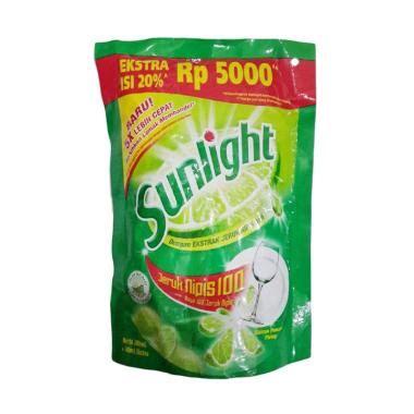 Jual Sunlight Lime by Jual Sunlight Lime Pouch Cairan Pencuci Piring 6x 240 Ml