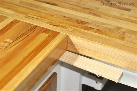 Installing Wood Countertops by How To Finish And Install Butcher Block Countertop