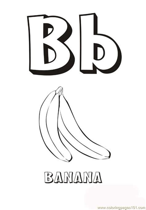 free printable coloring pages letter b coloring pages alphabet letter b education gt alphabets