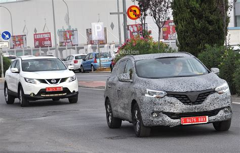 renault koleos 2016 all new 2016 renault koleos spied with production body for