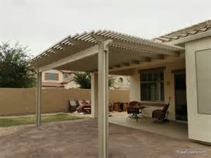 Mesa Awnings Two Tone Alumawood Lattice Cover