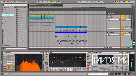 trap drum pattern ableton 808 trap beat and trap piano beat made in ableton live 9