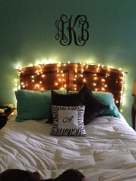 christmas lights as bedroom decor for the home pinterest