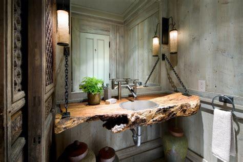 badezimmer kommode holz holz im badezimmer landhausstil im bad f 252 r entspannende