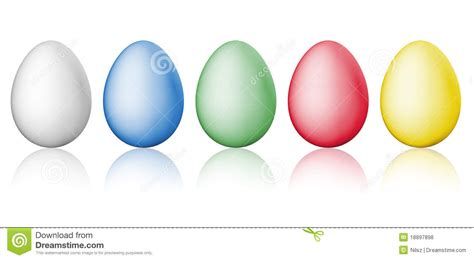 simple easter eggs royalty free stock photos image 18897898