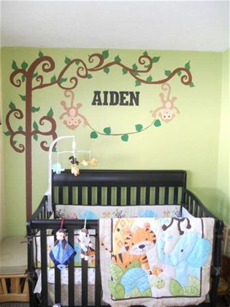 safari themed boys bedroom transitional boy s room boy jungle nursery jungle themed boy nursery we did on a