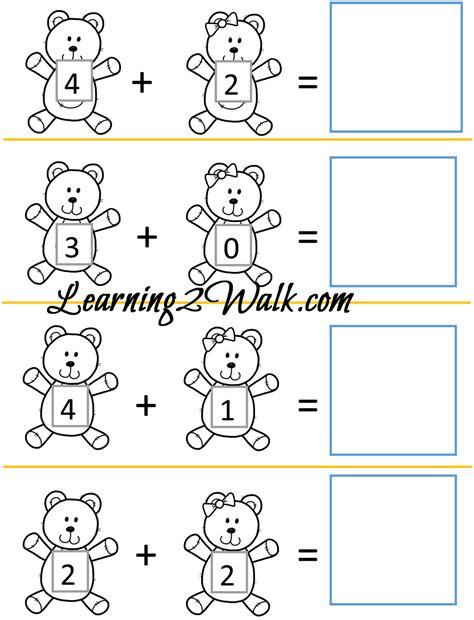 bear pattern worksheet teddy bear kindergarten worksheet set kindergarten