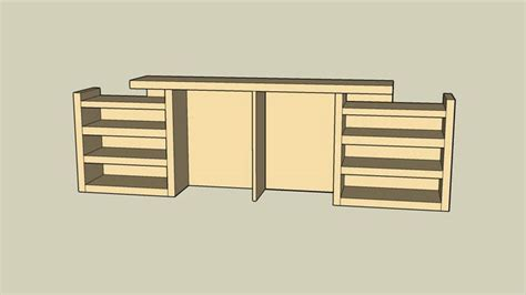 sketchup components 3d warehouse bookshelf malm