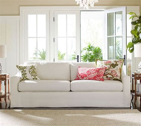 rooms to go slipcovered sofa reviews york slope arm slipcovered sofa pottery barn